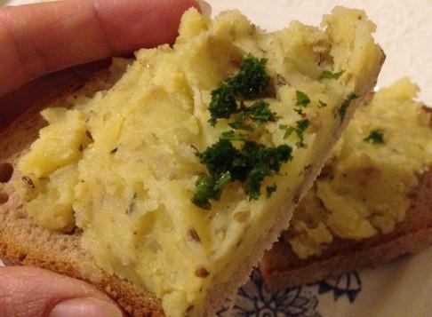 nicht nur in der not, kartoffeln auf´s brot