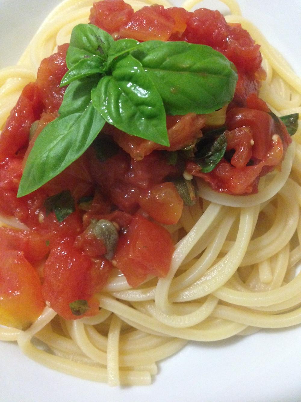 Epikur Gastrosophie www.eat.de #italienisch #pasta #diy #pflanzlich #vegan einfache Rezepte #Tomaten