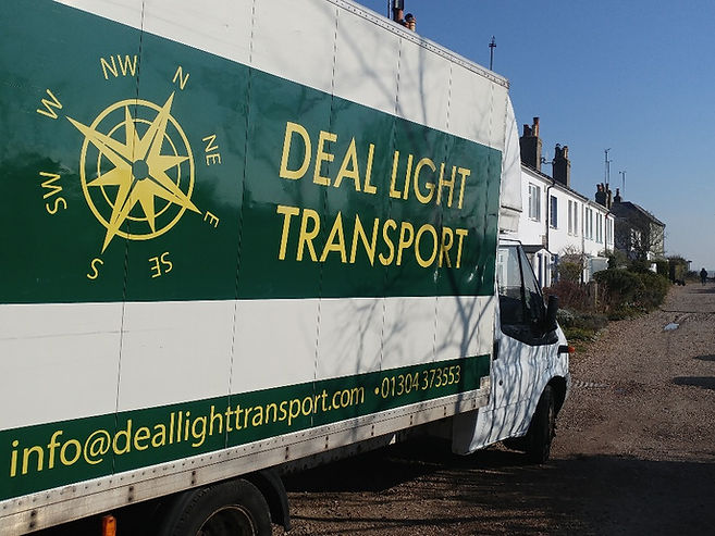 Our Newly Sign-Written Removal Van