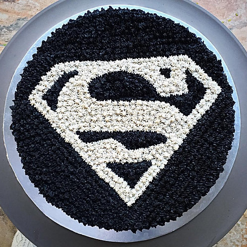 Man of Steel Cake