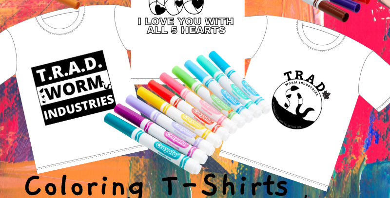 Colorable T-Shirt For Kids