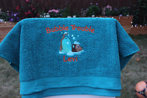 Microfibre Towel - Bubble Trouble