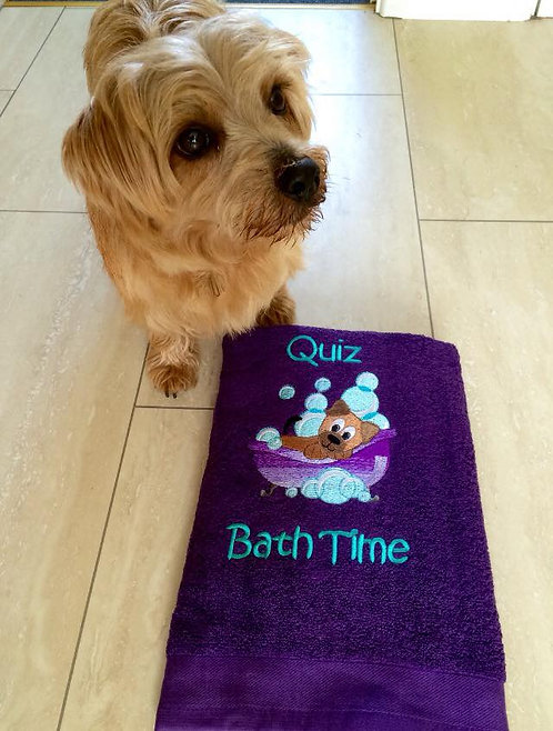 Bath Time Towel