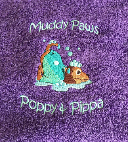 Personalised Design Pet Towel