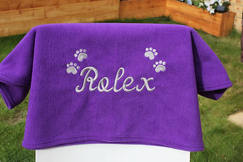 Personalised Dog Blankets