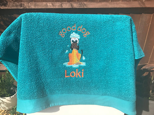Good Dog Towel