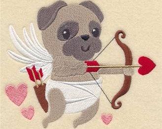 Pug Love Blanket