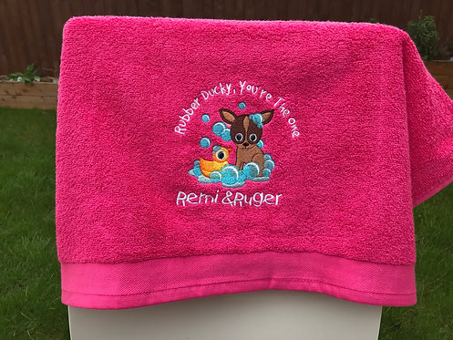 Microfibre Towel - Rubber Ducky