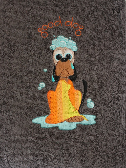 Embroidered Pet Towel