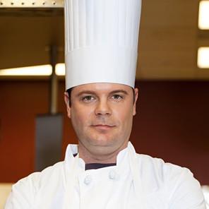 Chef con sombrero de copa