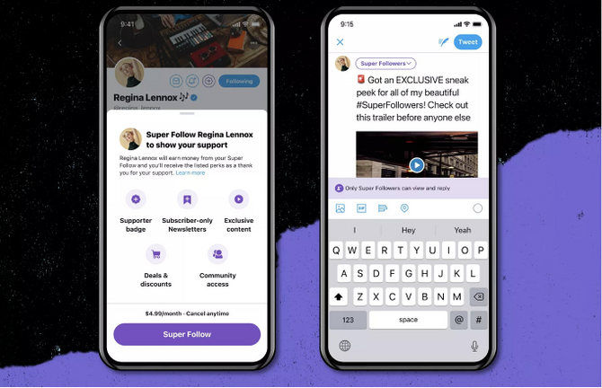 Twitter Introduces New 'Super Follow' Button