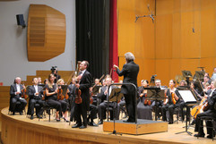 """Suite Sinfónica de """"La Tribuna"""" con Josep Pons al frente de la OSG en La Coruña, 2019"""