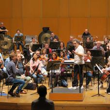 Los ensayos con Josep Pons en el Palacio de la Ópera