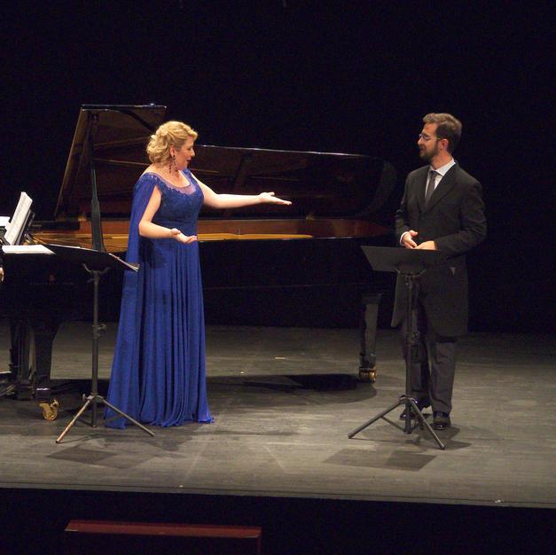 Maite Alberola y Gabriel Alonso