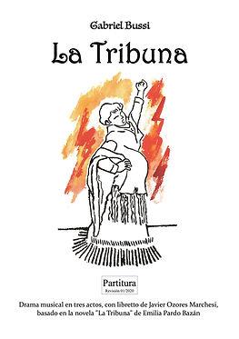 La Tribuna - Partitura - front page.jpg