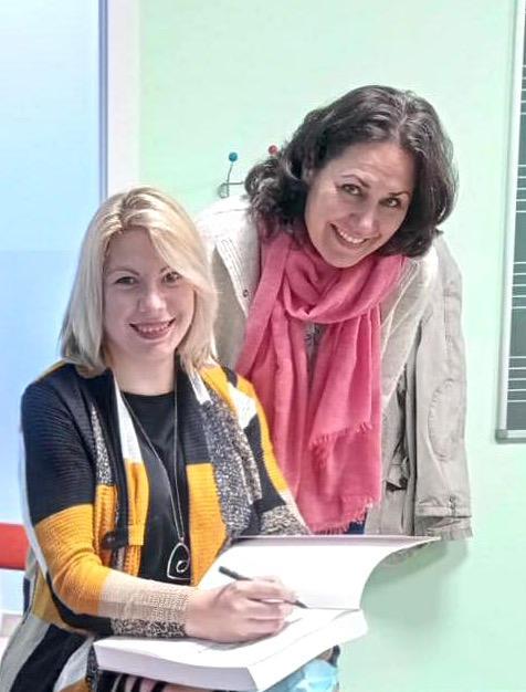 Maite Alberola y Clara Jelihovschi