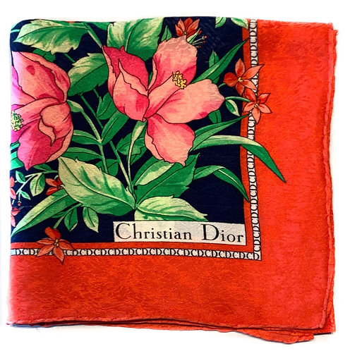 Foulard carré Christian Dior passion