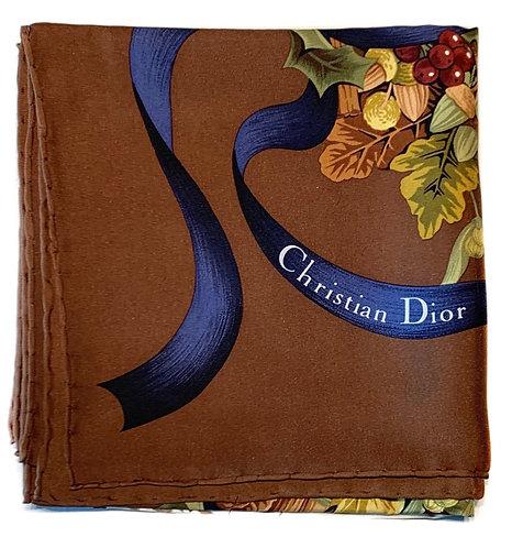 Foulard carré Christian Dior automne