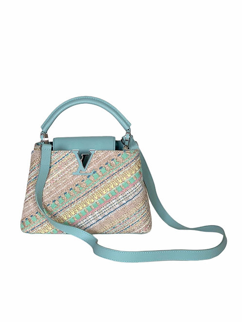 Sac Louis Vuitton Cappucine BB Pastel 2016