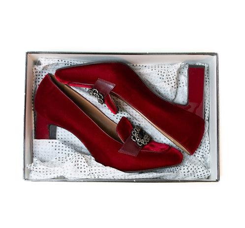Chaussures Fratelli Rossetti velours