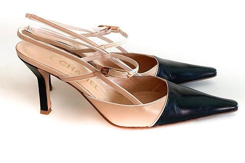Escarpins Chanel Slingback Classic