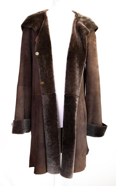 Manteau Rizal mouton retourné