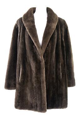 Manteau fourrure de Loutre