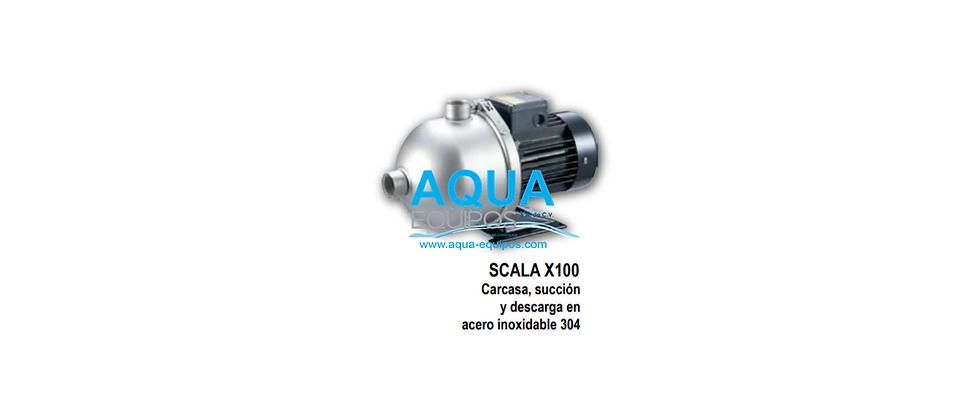 MOTOBOMBA SCALA X100 2HP 1F 230V