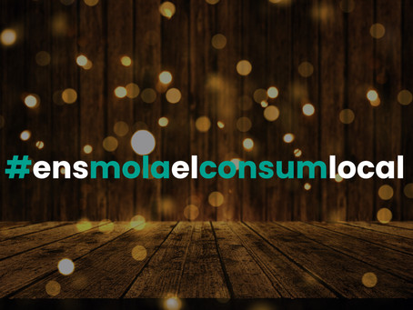 La campanya de Nadal de la comunitat #ensmolaelconsumlocal.