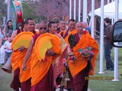 Budgets Monks visit IPG Batavia