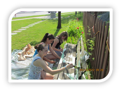 Children Volunteers at Work