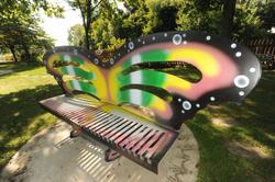 IPG Rainbow Bench