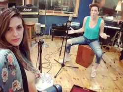 Some new stuff❤_#vocals #cajon #recordin