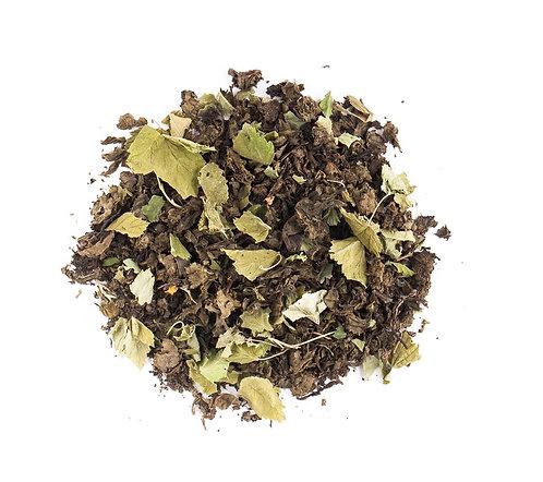 Иван-чай листовой с листочками черной смородины весовой, 100 г