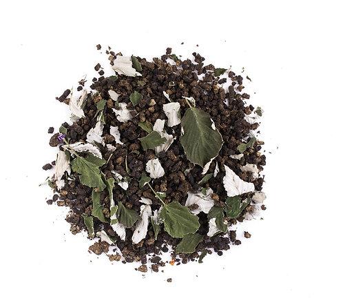Иван-чай выдержанный с листьями малины весовой, 100 г