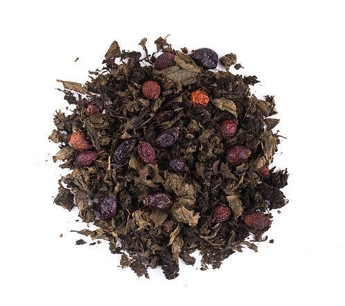 Иван-чай листовой с шиповником весовой, 100 г