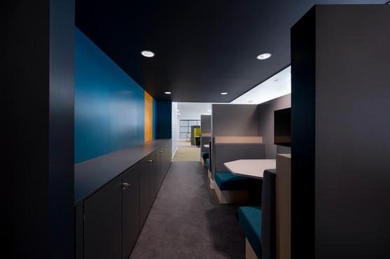 Futuristic workspace