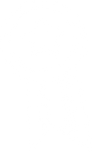 A simple cartoon image of a commemorative rosette with a striped ribbon tail. The rosette is just a simple double lined circle with a star in the middle.
