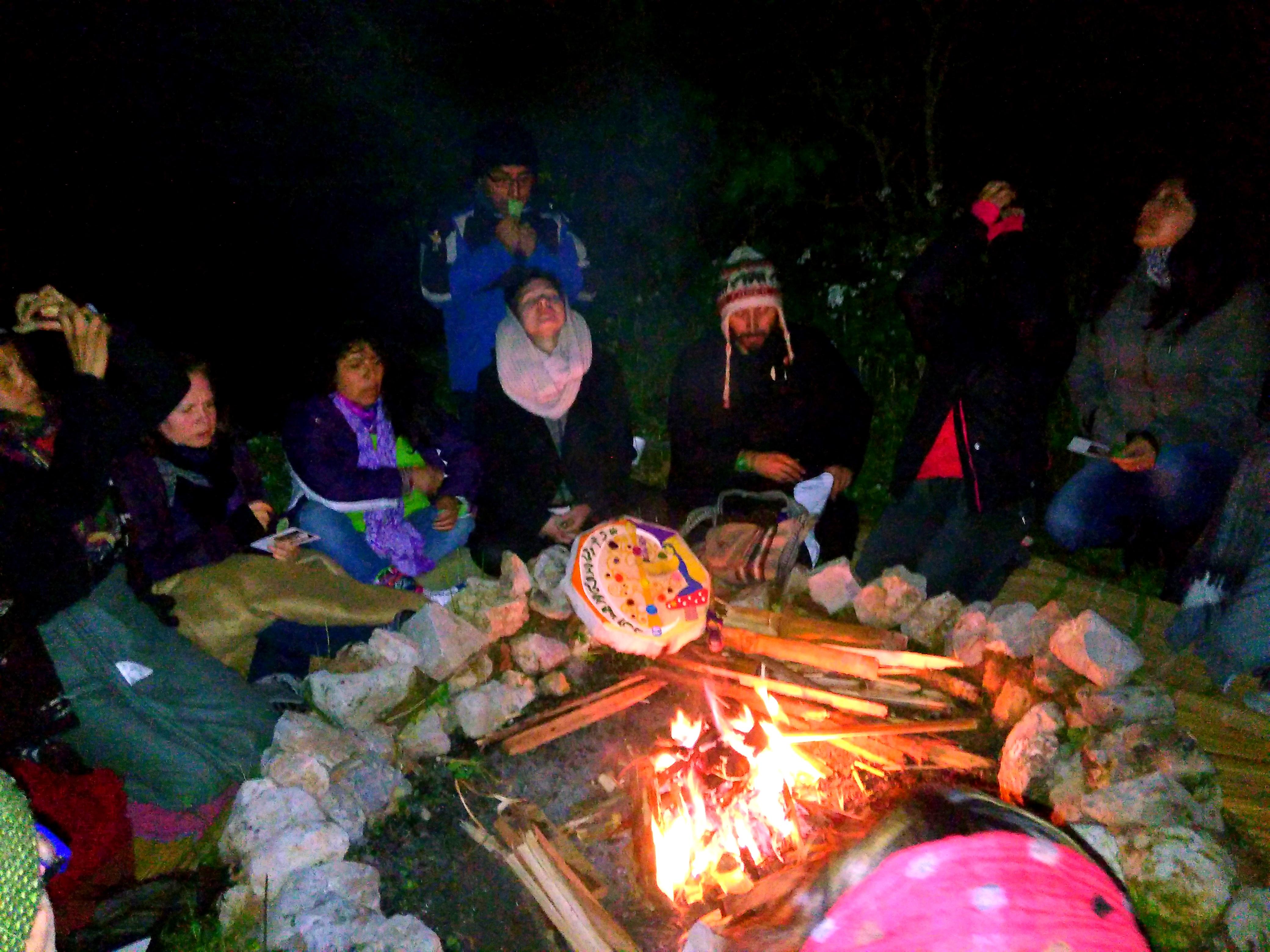 Ceremonia de Fuego