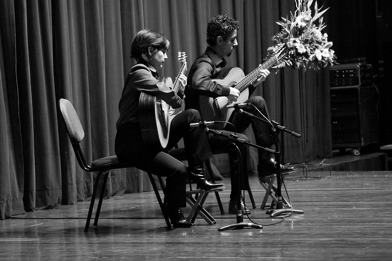 Duo Siqueira Lima no Seminário de 2011..
