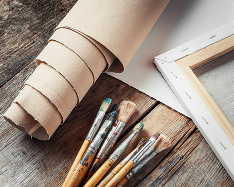 Peinture acrylique et aquarelle