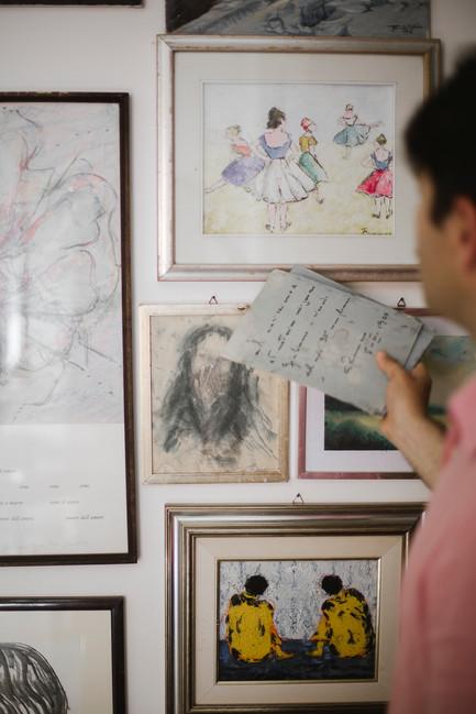 portrait at home Francesca Bianchelli