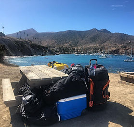 Trans Catalina Trail Gear Haul