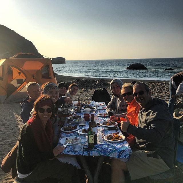 Parsons Landing camping Catalina Backcou