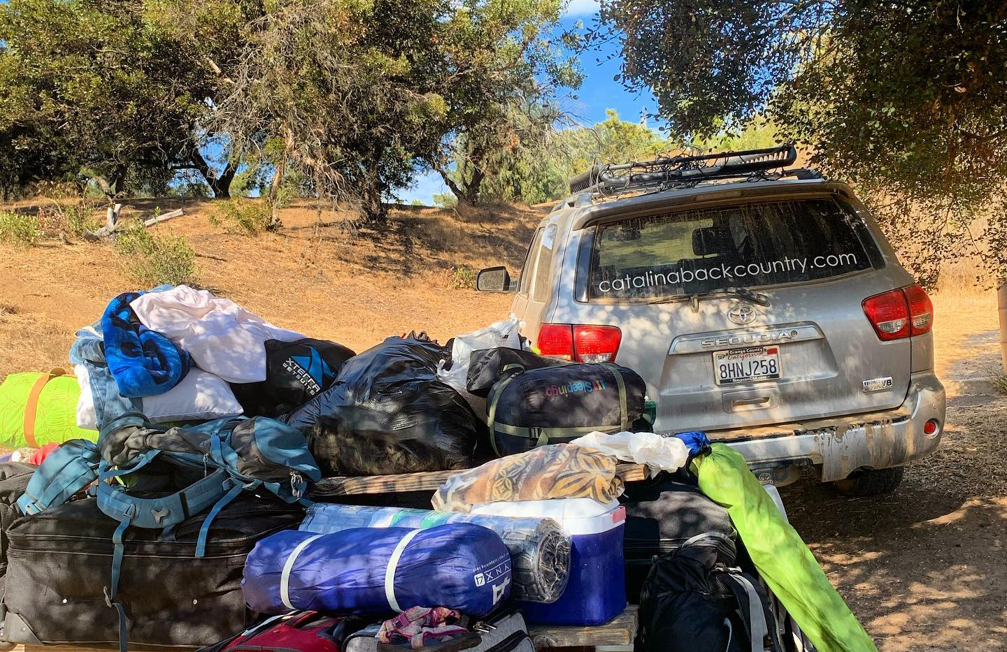 Gear Haul Trans Catalina Trail