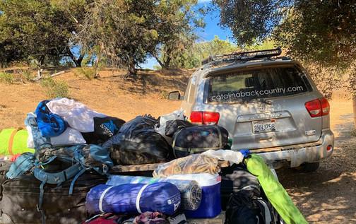 Gear Haul Trans Catalina Trail