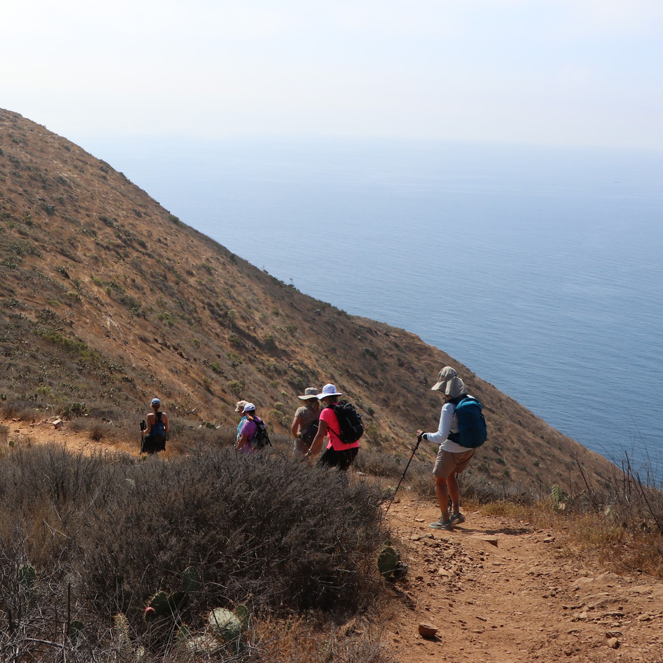 Hike to Two Harbors