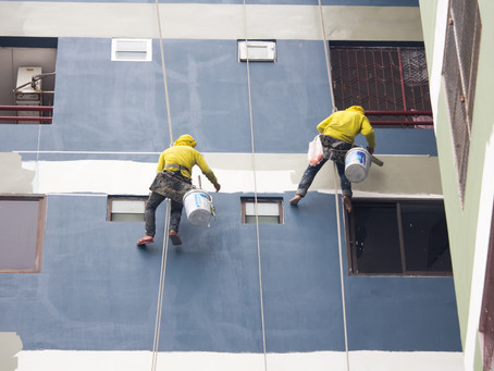 COUNTY GOVERNMENT OF NAIROBI ORDERS BUILDING TO BE REPAINTED