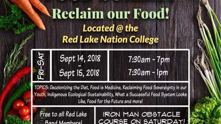 Red Lake Nation Food Summit