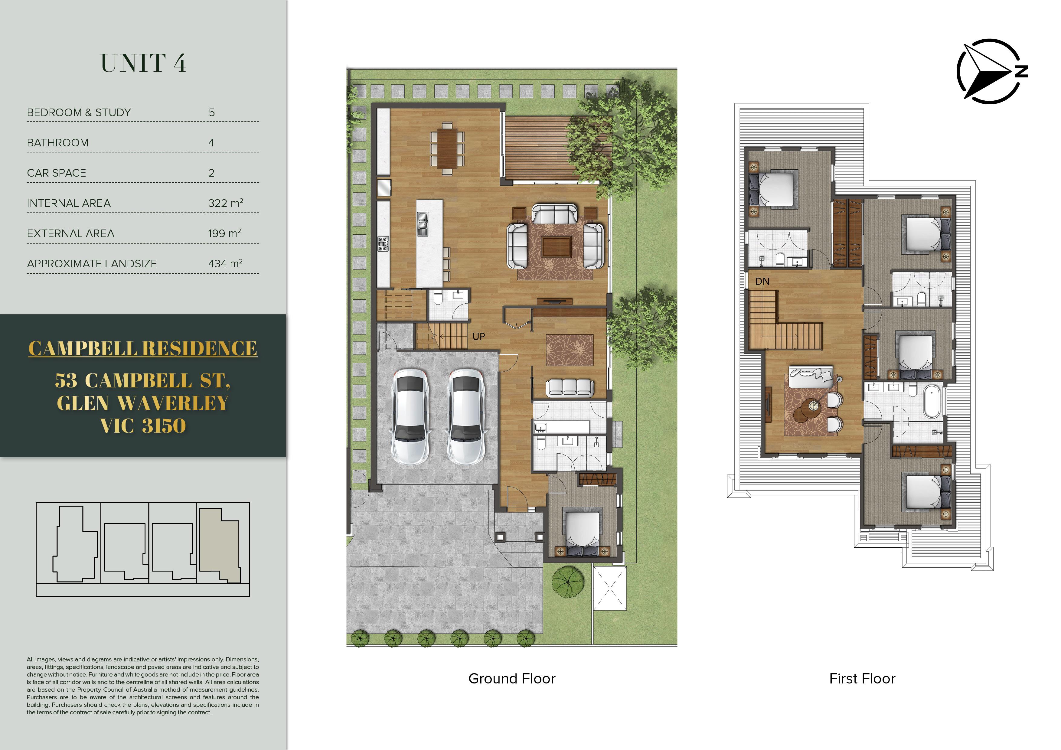 Campbell Residence FloorPlan (English Ve